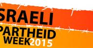 Inauguracja Tygodnia Izraelskiego Apartheidu 2015