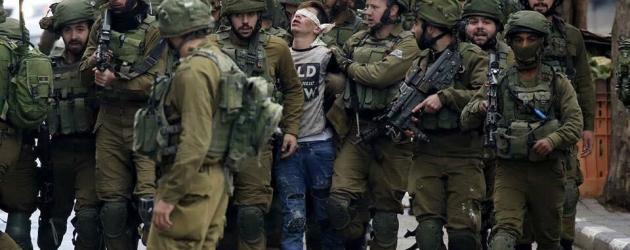 Palestyńskie dzieci przed sądem